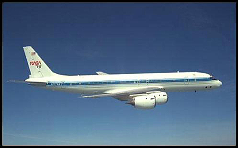TRACE-P DC-8/P-3B Instrument Layout