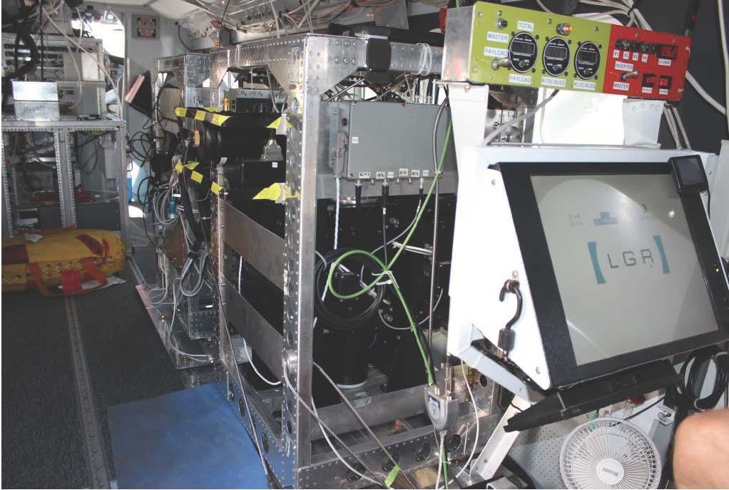 COMEX Instruments on CIRPAS Twin Otter | ESPO
