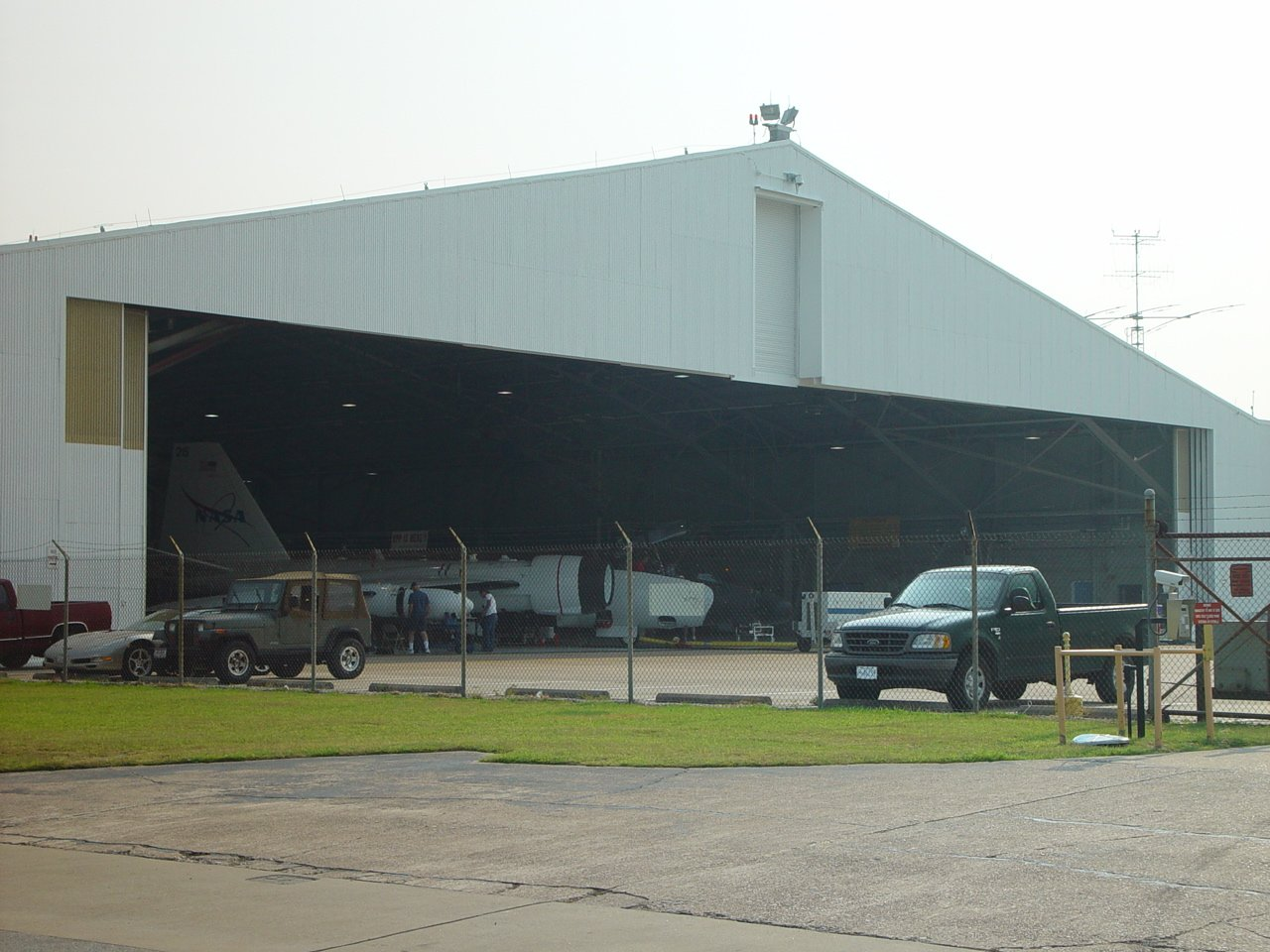 WB-57 Hangar | ESPO