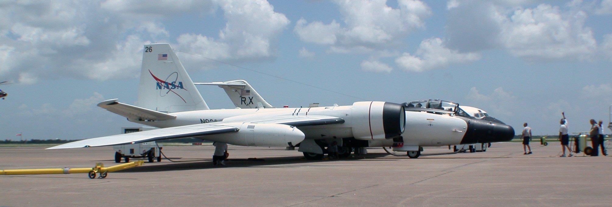 WB-57 Test Flight Ready | ESPO