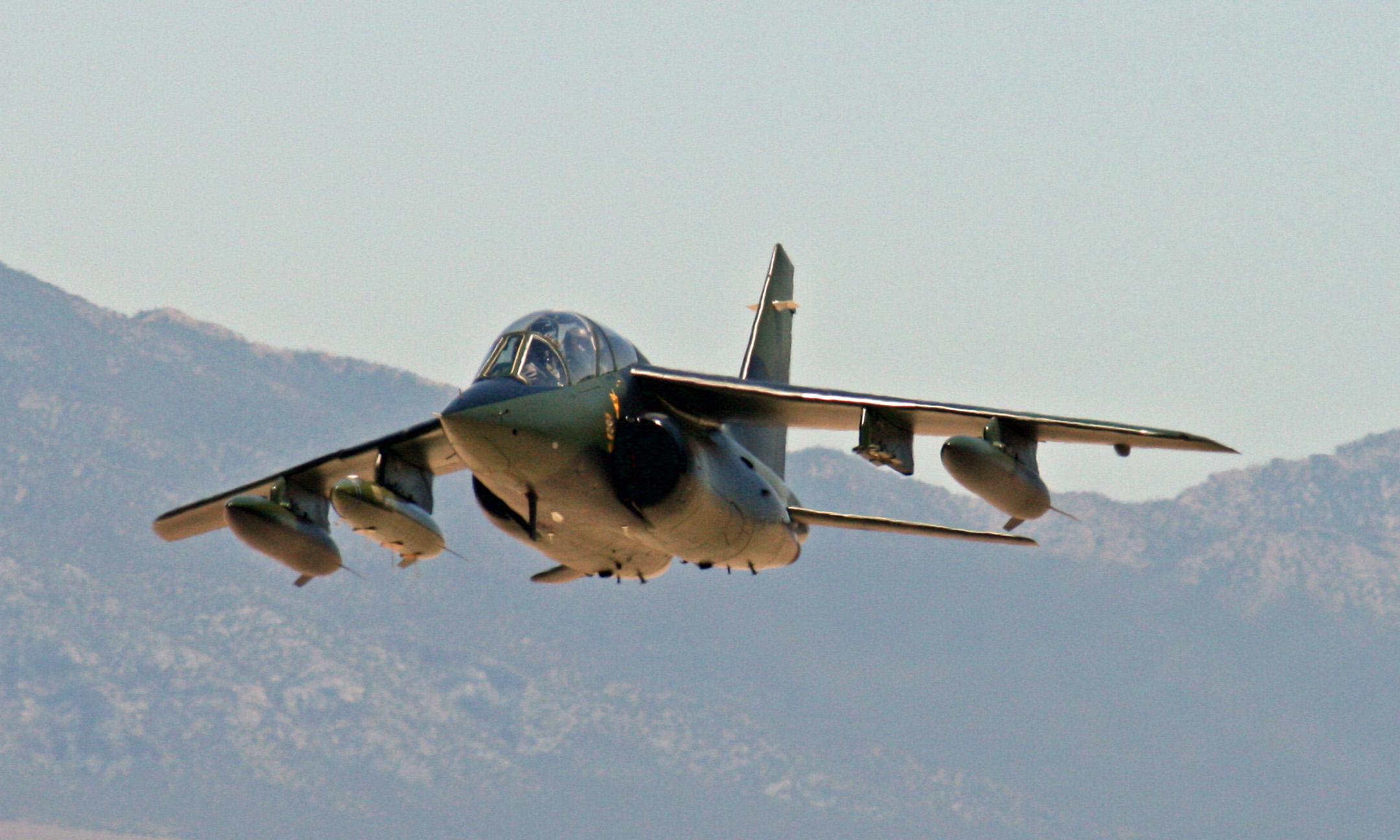 Alpha Jet in Flight | ESPO