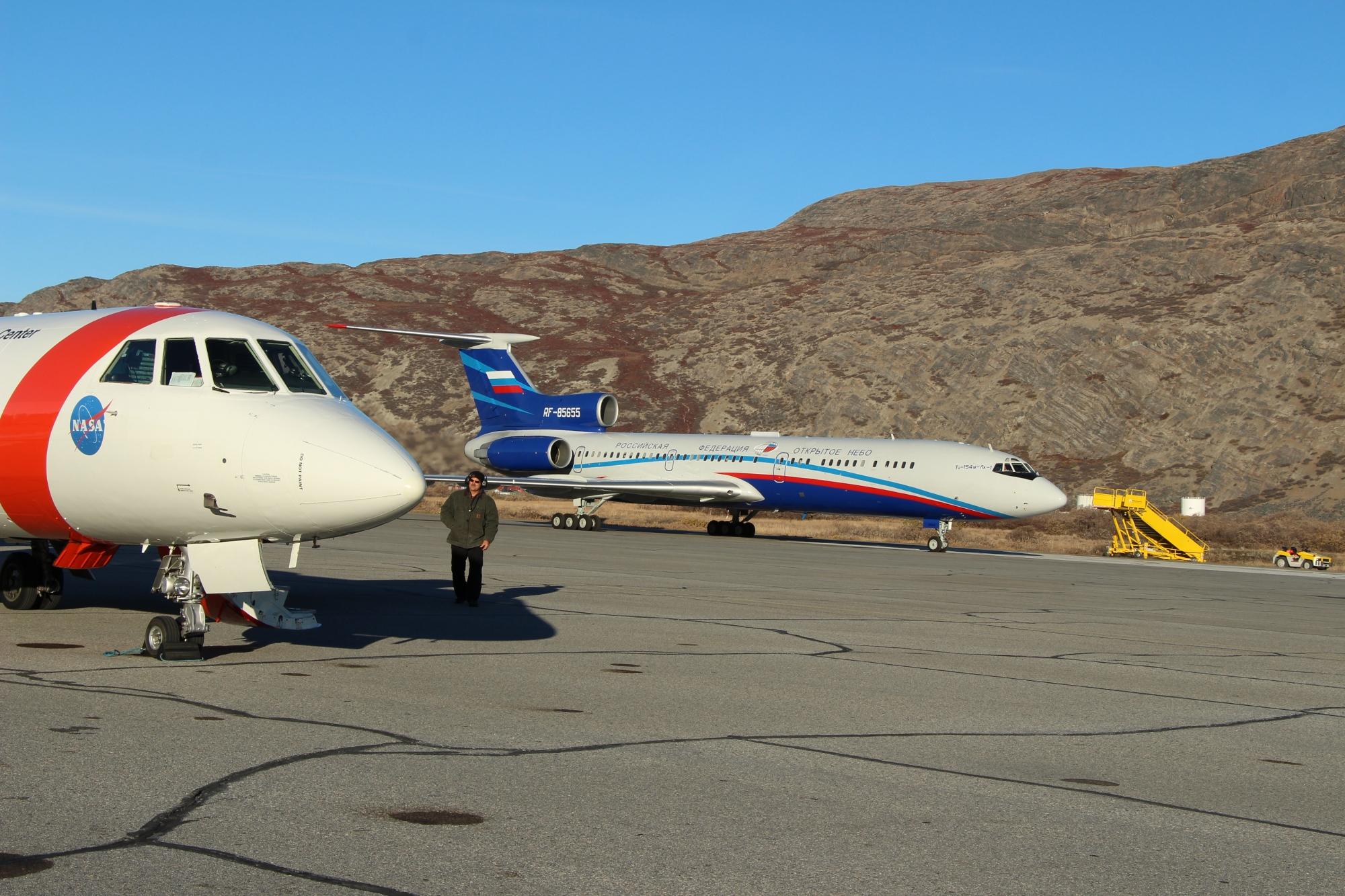 Open Skies Tu-154M   ORACLES