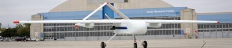 NASA SIERRA UAV at Moffett Field, California