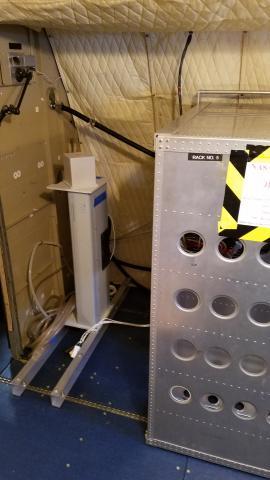 P-3 instrument Rack installation 2