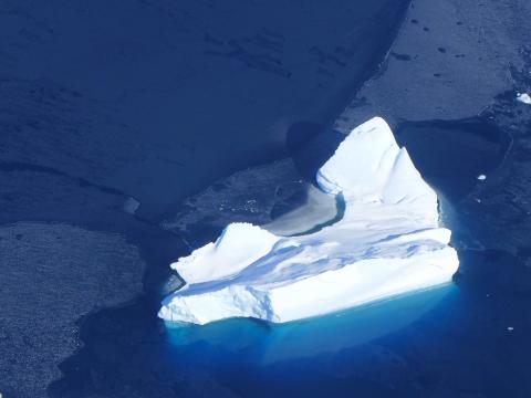 Iceberg near Spaatz Island | ATTREX