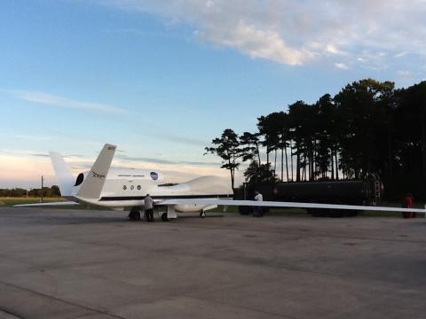 AV-6 refueling after landing (9.20.12)