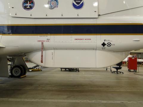 HIRAD fairing install on AV-1 (9.27.12)