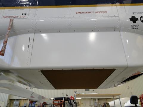 HIRAD radome install on AV-1 (9.27.12)