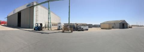 Hangar, Containers and Equipment
