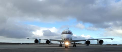 NASA DC-8 Arrives at PUQ
