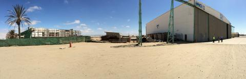 Walvis Bay Airport Hangar and Ramp 2 - Namibia