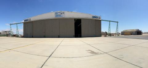 Walvis Bay Airport Hangar and Ramp