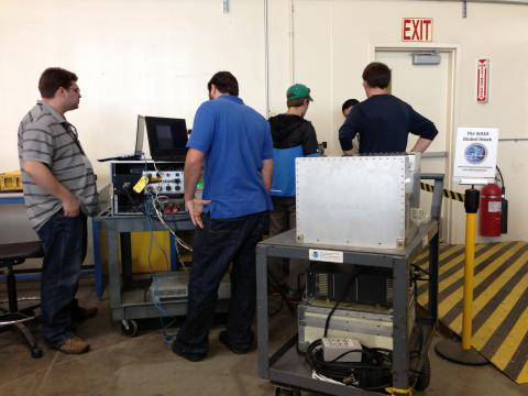 ATTREX 2012 - FCDP and NWV bench testing (12.06.12)
