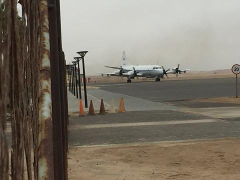 ORACLES P-3 taxing Sci Flt #1