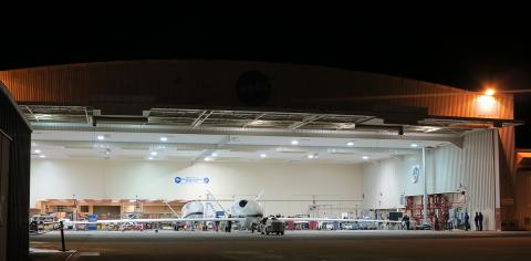 Global Hawk Rolls Out For Range Flight.