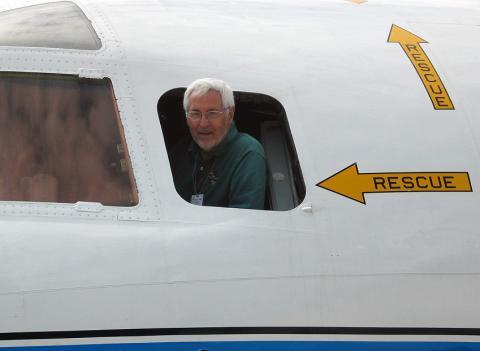 Jim McFadden from P-3 Cockpit