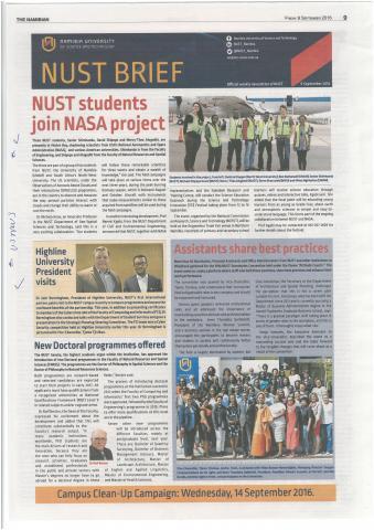 Namibian University Article