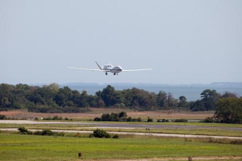 Ferry flight to Wallops Sept 7 2012