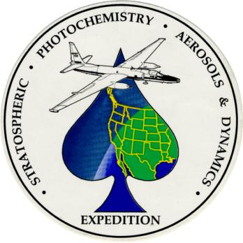 Stratospheric Photochemistry, Aerosols and Dynamics Expedition (SPADE) Logo