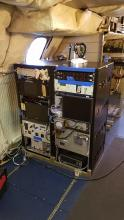 P-3 instrument Rack installation 1
