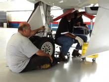 AV-6 Maintenance Work (9.29.12)