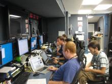 AV-1 instrument testing in PMOF - HIWRAP, HAMSR (10.2.12)