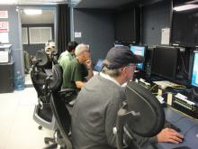 AV-1 instrument testing in PMOF - HIRAD - Pete Black, Tim Miller, Sayak Biswas