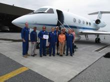 AirMOSS 100th Flight, Harrisburg, PA (7.12.13)