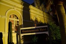 ORACLES Swakopmund Hotel sign