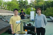 AERONET team Myungje Choi and Seoyoung Lee