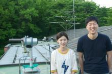 Olympic Park Pandora Team:  Hana Lee and Hyun Gwang Lim