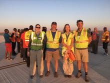 ESPO Crew for ER-2 Arrival