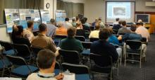 HS3 Conference Room at Wallops - Morning Forecast Session (2012)