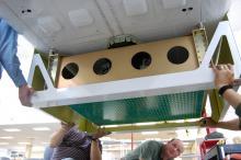 HIRAD Installation #2 (2012)