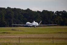AV-6 takeoff from Wallops (9.19.12)