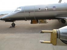 SPEC Lear Jet -  Port wingtip Instrumentation