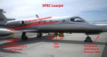 Learjet 25 N999MF SpecInc