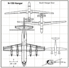 HS3 Hangar Layout at WFF (2012)