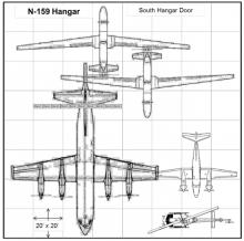 HS3 Hangar Layout at WFF (2012)