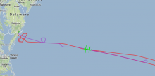 Global Hawk and ER-2 fly together during HS3 (9.23.12)