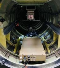 DPOPS integrated into ER-2 Nose with custom sampling lines