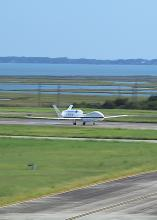 First Landing of AV-6 at Wallops (2012)