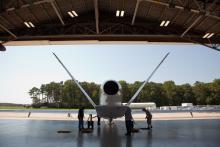 AV-6 in Wallops N-159 Hangar (2012)