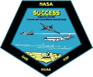 SUbsonic aircraft: Contrail & Clouds Effects Special Study (SUCCESS) logo