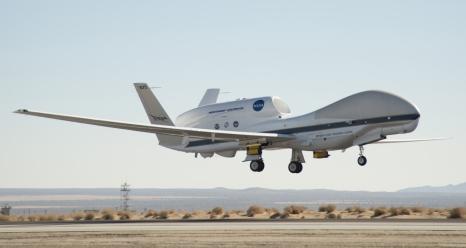 nasa global hawk ready for 2014 attrex mission a nasa global hawk    Nasa Global Hawk